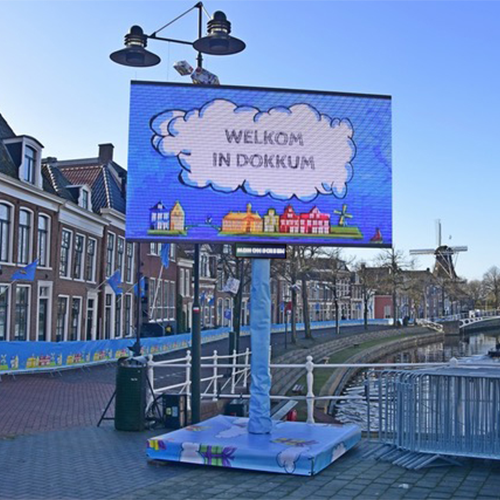 Outdoor LED scherm huren? - MDH On Screen