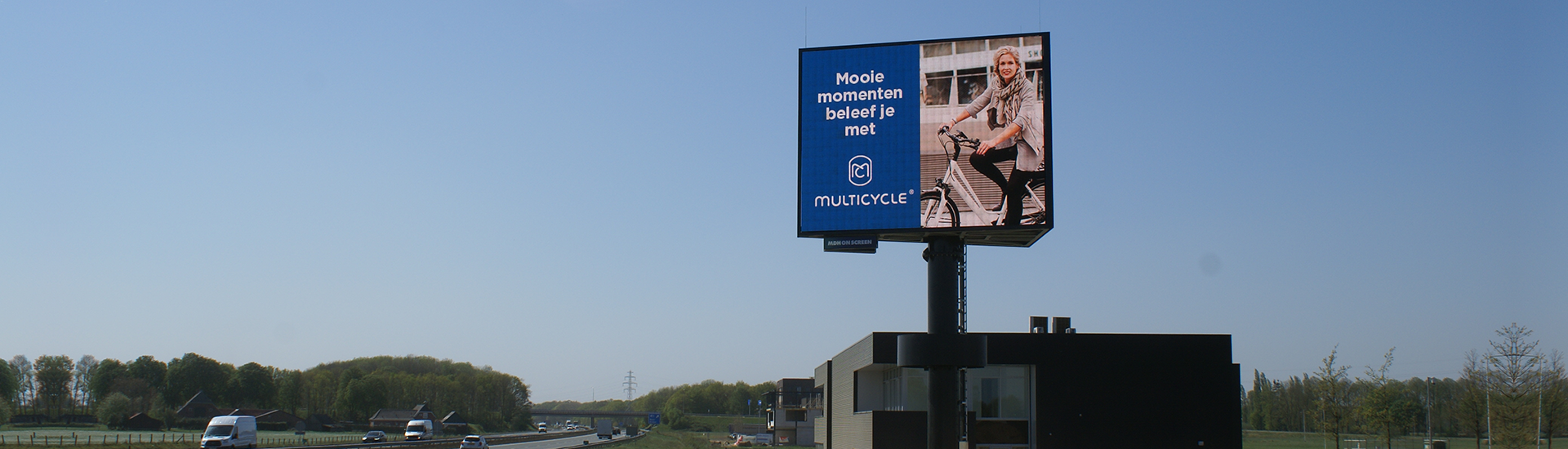 Outdoor LED digitale reclamemast A18