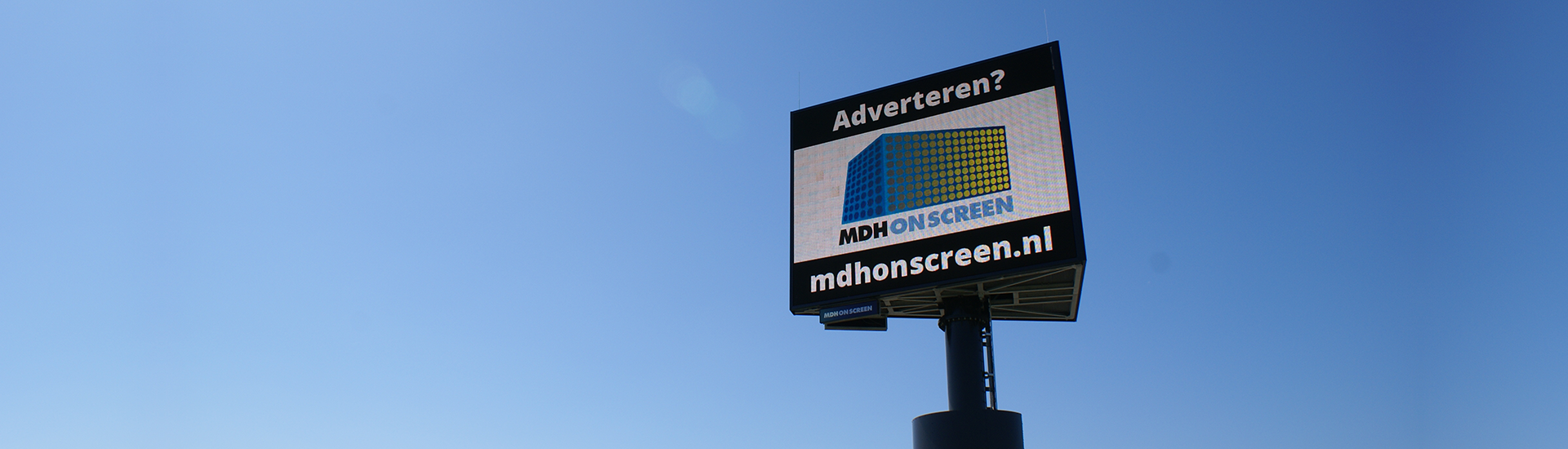 Snelwegreclame A18 - MDH On Screen